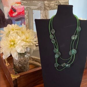 !!!Fashion Jewelry Necklace Green